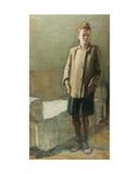 Woman in Interior, 1920s Giclee Print by Konstantin Lekomtsev