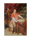 Pope Benedict Xiv Giclée-tryk af Giuseppe Maria Crespi