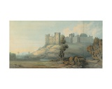 Ludlow Castle, Shropshire, 1777 Giclee Print by Francis Towne