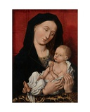 Virgin and Child Giclee Print by  Master of Flemalle