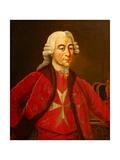 Grand Master Emmanuel De Rohan Giclee Print by Antoine de Favray