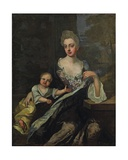 Portrait of a Lady Giclee Print by Sir Godfrey Kneller