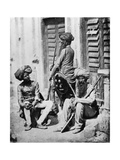 Sikh Officers During the Indian Rebellion, 1858 Photographic Print by Felice Beato