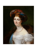 Portrait of Josephine Victoire Meslier-Duvey Giclee Print by Francois Josephe Kinsoen