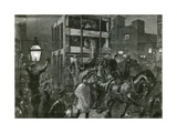 Jumbo's Journey to the Docks Giclee Print by William Heysham Overend