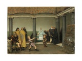 The Education of the Children of Clotilde and Clovis, 1868 Giclee Print by Sir Lawrence Alma-Tadema