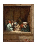 A Turkish Schoolroom, 1870 Giclee Print by Henriette Browne