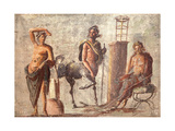 Chiron and Apollo, from the Casa D'Adonide, Pompeii Giclee Print