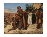 The Return of the Lost Son, 1878 Giclee Print by Edouard de Jans