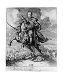 John Sobieski, King John III of Poland Giclee Print by Carolus Allardt