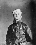 Captain Willoughby W. Hooper in Madras Cavalry Uniform, C.1870s Photographic Print by Willoughby Wallace Hooper