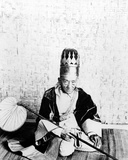 A Minister of State of King Thibaw of Burma, C. 1885 Photographic Print by Adam R. Whyte