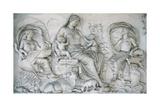 Ara Pacis Augustae. Tellus Panel Giclee Print