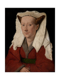 Portrait of Margareta Van Eyck, 1439 Giclee Print by  Jan van Eyck