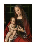 Detail of Madonna Giclee Print by Ambrosius Benson