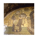 Justinian I (483-565). Mosaic Giclee Print