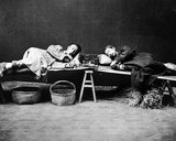 Opium Smokers, C.1875 Photographic Print by William Saunders