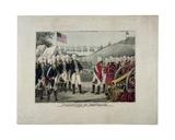 Surrender of Cornwallis, 1845 Giclee Print by James S. Baillie