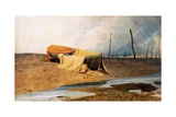 A Boat on the Beach Giclee Print by John Sell Cotman