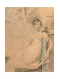 Portrait of Anne Lucy Poulett, Lady Nugent Giclee Print by John Downman