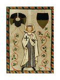 Der Tannhauser (1200-1305), Poet and Crusader. Fol.164R. Codex Manesse (Ca.1300) Giclee Print