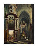 Antwerp Cathedral, 1878 Giclee Print by G.P. Andre