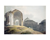 Ruins of the Palace of Madra Giclee Print by Thomas Daniell