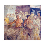 Patroclus Separates Briseis from Achilles, from the House of the Tragic Poet, Pompeii Giclee Print
