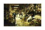 The Marketplace, 1885 Giclee Print by Victor Gabriel Gilbert