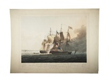 His Majesty's Ship Shannon Capturing the American Frigate Chesapeake, 1813 Giclee Print by George Webster