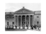 The Coronation of George IV at Carlton House, Etched by Robert Havell II, 1824 Giclee Print by Charles Wild