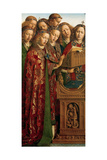 Singing Angels, from the Left Wing of the Ghent Altarpiece, 1432 Giclee Print by Hubert & Jan Van Eyck