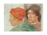 Detail of the Dispute with Simon Mago, C.1484-85 (Detail) Giclee Print by Filippino Lippi