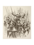 Joan of Arc, 1890 Giclee Print by Sir John Gilbert