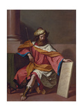 King David Giclee Print by  Guercino
