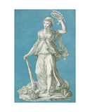 Liberty, C.1793 Giclee Print by Pierre Thomas Le Clerc