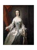 Unknown Lady, 1750 Giclee Print by Thomas Hudson