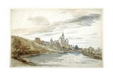 View of Cleves, Late 17th Century Giclee Print