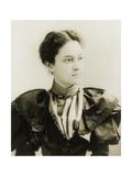 Crown Princess Victoria Kaiulani of Hawaii, 1893 Reproduction photographique