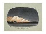 Turks under Turkee Bel Mas Burning the Suburbs of Mocha on the Night of Dec 6th 1833, 1833 Giclee Print by Rupert Kirk