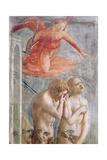 Detail of Adam and Eve Banished from Paradise, C.1427 (Detail) Giclee Print by Tommaso Masaccio