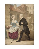 First Impressions, 1851 Giclee Print by George Baxter