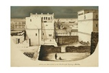Sketch from the Windows of the Old French Factory, Mocha, 1835 Giclee Print by Rupert Kirk