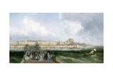 Brighton from the West Pier, C.1870 Giclee Print by  James Webb and George Earl