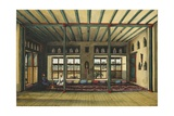 Principal Room in the Country House of Sheik Tybe, Mocha, 1833 Giclee Print by Rupert Kirk