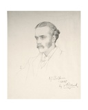 Arthur Balfour, 1888 Giclee Print by Violet Manners