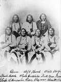 Bosse, Left Hand, White Wolf, Black Kettle, White Antelope, Bull Bear, Neva: Chiefs of Arapahoe,… Photographic Print