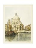Santa Maria Della Salute, Venice Giclee Print by Jacques Guiaud