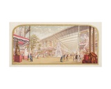 The Exhibition at the Crystal Palace, 1851 Giclee Print by George Baxter