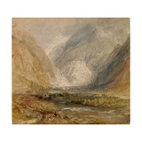 Fort Bard, Val D'Aosta, Probably 1836 Giclee Print by J. M. W. Turner